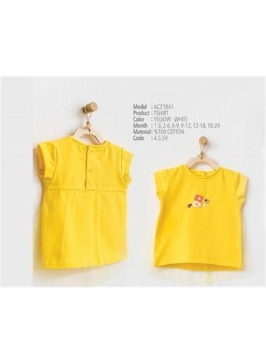 Andy Wawa Andy Wawa T-Shirt Hello Sunshine Sarı Sarı